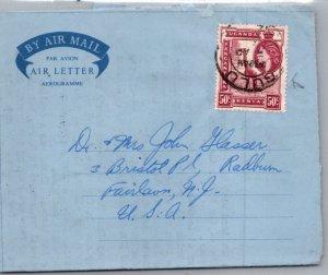 Kenya Uganda & Tanganyika, Air Letters