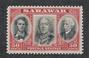 SARAWAK SC# 157 FVF/LH 1946