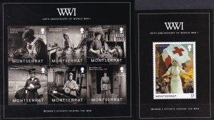 Montserrat #1339-40   MNH CV $15.25 (Z5409L)