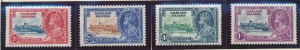Falkland Islands Stamps Scott #77 To 80, Mint Hinged, Silver Jubilee - Free U...