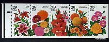 2833a 29c Garden Flowers, Bklt Pane of 5 1994