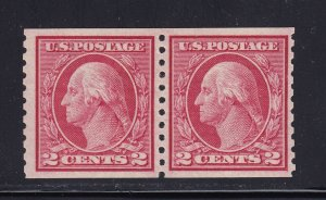 453 Pair VF-XF PSE cert OG lightly hinged with nice color ! see pic !