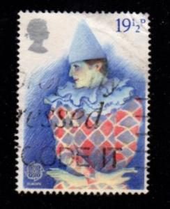Great Britain - #988 Pantomine- Used