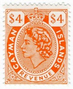 (I.B) Cayman Islands Revenue : Duty Stamp $4