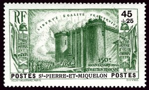 St. Pierre & Miquelon B4 Mint VF SCV$13...French Colonies are Hot!