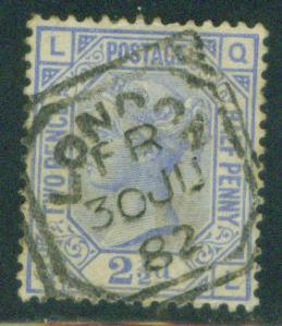 Great Britain Scott 82 1880 Queen Victoia CV$27.50