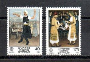 Cyprus 560-561 MNH