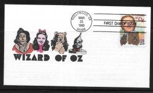 United States 2445 Wizard of Oz  First Day Cover FDC (z4)