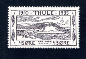 Greenland, Thule, #YV5,  Local Post, VF, Unused, CV $3.00 ....2510265