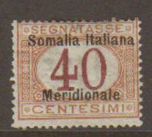 Somalia #J5 Mint