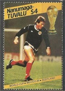 TUVALU, NANUMAGA, 1976, MNH $4, World Cup Soccer Scott NANUMAGA 68