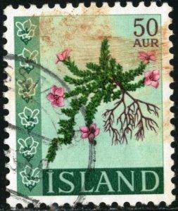 ICELAND #393, USED - 1968 - ICE399AFF6