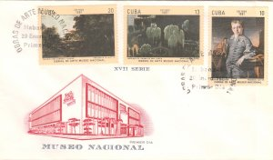 1981 Cuba Stamps Paintings in the National Museum FDC