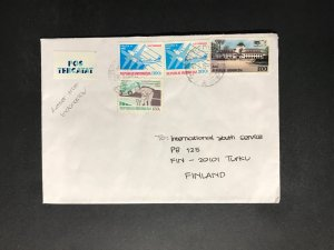 Indonesia #780//B242 Cover to Finland (1970-1999)