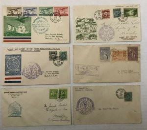 6 1934-1941 Philippines first day covers [y5323]
