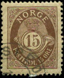 Norway Scott #52 Used