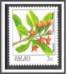 Palau #127 Indigenous Flowers MNH