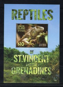 UNION ISLAND -  2015 Reptiles of St. Vincent and the Grenadines  M2745