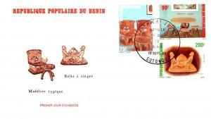 Benin, Worldwide First Day Cover