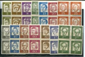 Berlin #9N176-90  Blocks 4  Mint VF NH