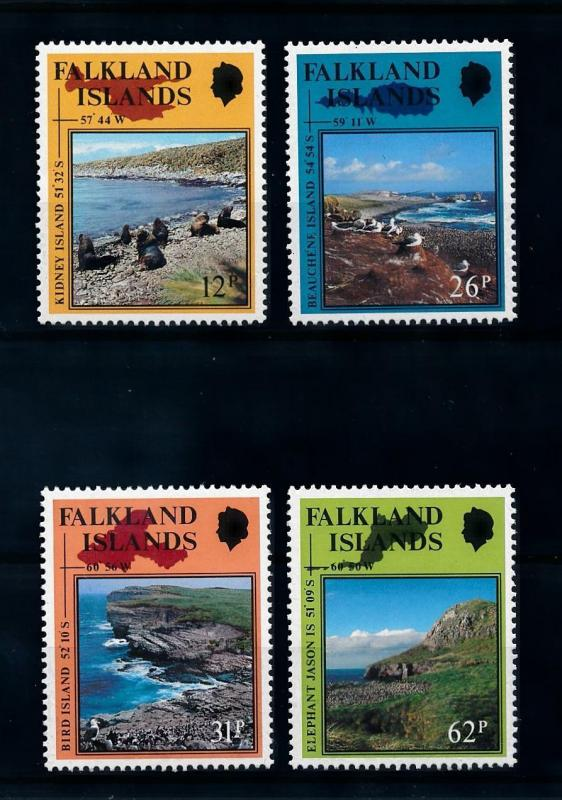[71983] Falkland Islands 1990 Birds Seals  MNH