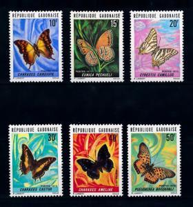 [70625] Gabon 1973 Insects Butterflies  MNH