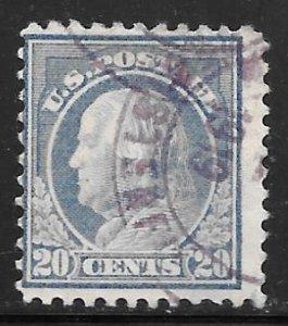 USA 515: 20c Franklin, used, AVG