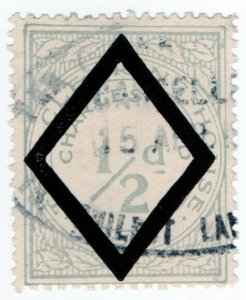(I.B) George V Revenue : Tea Clearing House ½d