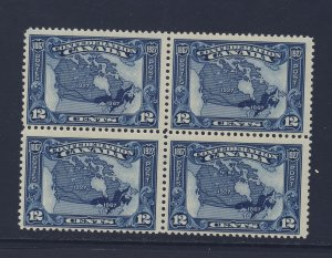 Canada MNH Block; #145-12c Map MNH F/VF Guide Value = $150.00