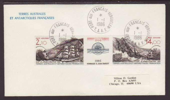 French Southern and Antarctic Territories 1986 Cover