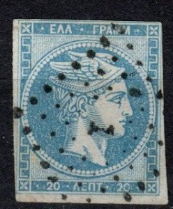 Greece #27 F-VF Used CV $24.00 (X1057)
