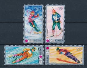 [56229] Poland 1972 Olympic Winter Games Sapporo Skiing Luge MNH