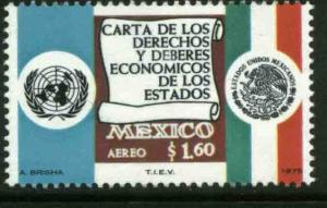 MEXICO C457 Declaration of Economic Rights and Duties MINT, NH. VF.