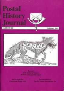 Postal History Journal, Number 124,