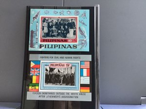 Philippines Fighters for Human Rights mint never hinged stamp sheets  R27048