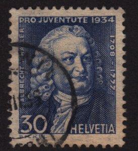 Switzerland B72 Albrecht von Haller  1934