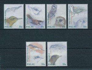 [102396] Palau 2000 Birds vögel oiseaux owl dove flycatcher  MNH