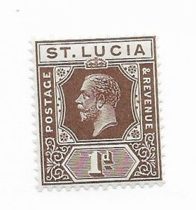 St. Lucia #78 MH - Stamp - CAT VALUE $1.60