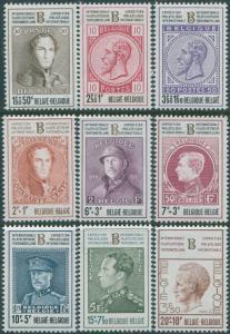 Belgium 1972 SG2277-2285 Belgica 72 set MNH