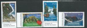 Pitcairn Islands #594-598 set of 4 (MNH) CV$14.00