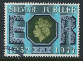 Great Britain  SG 1033 SC# 810 Used / FU with First Day Cancel - Silver Jubilee