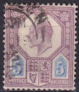 Great Britain #134  F-VF Used   CV $22.50 (SU7342)