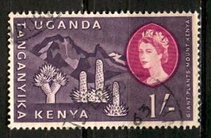 Kenya Uganda & Tanganyika; 1960: Sc. # 129: O/Used Single Stamp