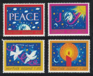 Norfolk Christmas 4v issue 1998 SG#686-689 SC#666-669