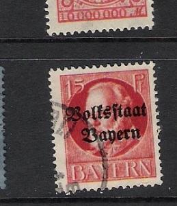 GERMANY BAVARIA 140 VFU P735
