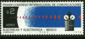 MEXICO C432 Cong of Electric & Electronic Communications MINT, NH. VF,