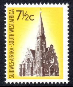 SWA - 1967 7½c wmk left MNH** SG 212