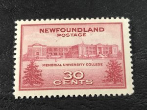 NEW FOUNDLAND # 267-MINT NEVER/HINGED--------1943
