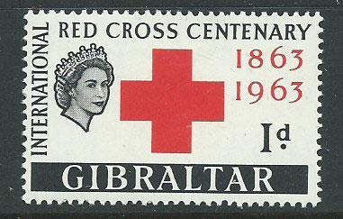 Gibraltar SG 175 Mint Very Light Hinge MVLH