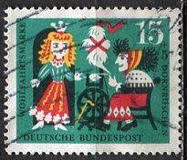 Germany; 1964: Sc. # B401: O/Used Single Stamp